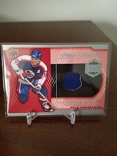 DALE HAWERCHUK 2015/16 UD SERIES 2 A PIECE OF HISTORY 1000 POINT JERSEY C 1:1193