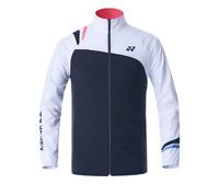 Yonex Men's Woven Jacket Badminton Apparel Racquet Charcoal Gray NWT 203WU005M
