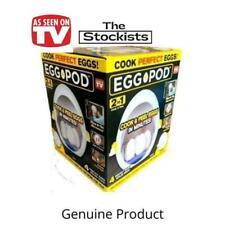 Egg Pod as Seen on TV Eggs 2 in 1 Cook & Peel Exp