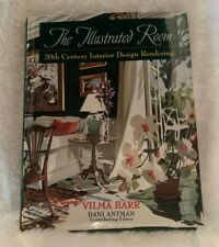 The Illustrated Room: 20th Century Interior Design Rendering By Vilma Barr