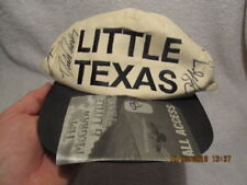 Little Texas Band Signed Cap With Tim McGraw & Black Hawk Jerry Sloan Collection