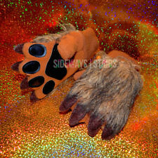 BABYGAP LION MITTENS S/M faux fur paws cosplay gloves Halloween costume paw rare