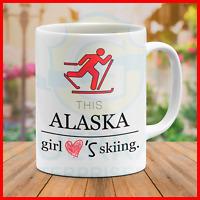 Mug Skier I Like Love To Ski Lover Sports Funny Cool Best Gift Present Mugs