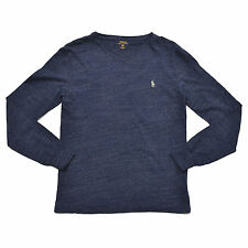 Polo Ralph Lauren Classic Fit T-shirt V-neck Mens Long Sleeve Tee Pony Logo Nwt