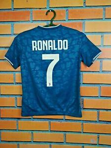 Ronaldo Juventus Jersey 2019/20 Third 3rd 9-10 years Kids Shirt Adidas DW5474