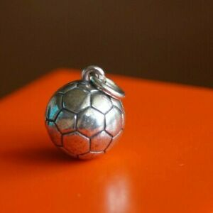 James Avery SOCCER BALL CHARM Sterling Silver