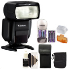 Canon Speedlite 430EX III Flash + Battery & Charger for Canon Rebel T3i T5i T6