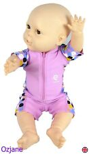 BABY GIRLS UV UPV 50+ SUN PROTECTION SWIM SUIT 3-18 MONTHS RASH GUARD OZCOZ NEW