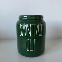 New Rae Dunn Santa's Elf Green Baby Canister Christmas Online Exclusive