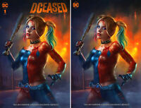 DCEASED #1 SHANNON MAER 2 BOOK VARIANT SET - NM OR BETTER - Marvel 2019