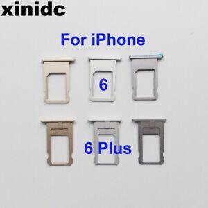 UK Replacement Nano Sim Card Tray for Apple iPhone 6 / 6 plus Original Part