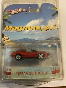 "Hot Wheels ""MAGNUM PI"" Ferrari 308 AND ""Miami Vice"" Ferrari F512"