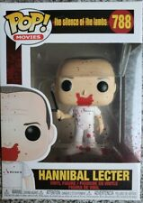Funko Silence of the Lambs Pop! Movies Hannibal Lecter Vinyl Figure Bloody Club