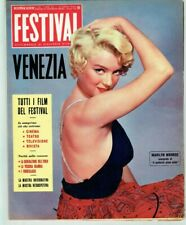 MARILYN MONROE Cover Magazine 1959 Italy Vintage Weekly Issue Rare Sexy Festival