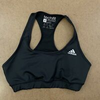 Adidas TechFit Climacool Women's Size Small Black Medium Compression Sports Bra