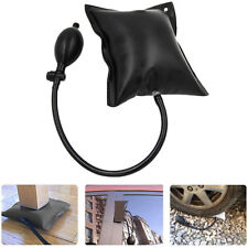 Black Air Pump Wedge Alignment Inflatable Shim Cushioned Hand Pump Car Door Tool