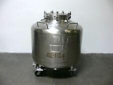 Howard 720 Liter 190 Gallon Stainless Steel Tank Pressure Vessel 25 Psi