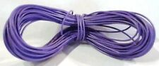 Model Railway/Railroad Layout/Point Motor Wire 1 x 50m Roll 7/0.2mm 1.4A Violet