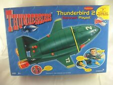 THUNDERBIRDS SUPERSIZE THUNDERBIRD 2 SOUNDTECH -  SEALED PACKAGE HAS WEAR