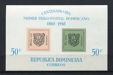 23561) REP. DOMINICANA 1965 MNH** Nuovi** Stamps on stamps