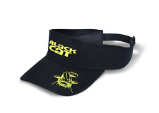 Black Cat Visor Sonnenschutz stylische Mütze Cap Wels Waller Catfish