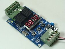 24V Digital Dual Programmable Relay Control Cycle Delay Timer Timing Switch LED