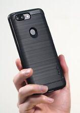 OnePlus 5T Case Cover Flexible TPU Anti-Slip Slim Rugged Shockproof Bumper Black