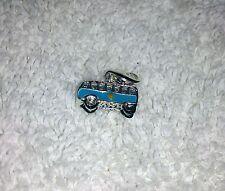 VW CAMPERVAN Style BLUE & PURPLE 3D CLIP ON CHARM Bracelets Keyrings Necklaces