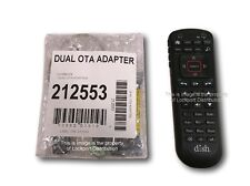 NEW Dish OTA Dual Tuner USB Adapter for Hopper/Wally + New 52.0 Remote Bundle