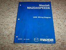 2006 Mazda6 Mazda 6 Mazdaspeed Mazdaspeed6 Electrical Wiring Diagram Manual Book