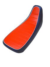 Motorcycle seat cover - Honda Africa twin in red white & blue