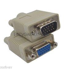 VGA / SVGA Monitor Extension Cable / Lead, HD15 Male-Female M-F 15-pin, 7.5M