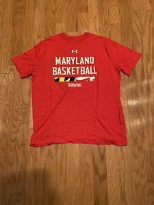 Under Armour Maryland Basketball 2 T Shirt Lot