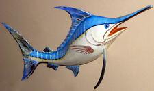 "Marlin Fish Replica Wall Mount Plaque ~18"" X 8""~Tropical Nautical  Decor"