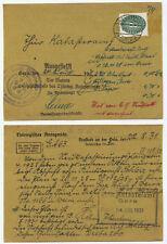 41413 - Dienst Mi.Nr. 116 -Amtsgericht / Katasteramt - Neustadt (Orla) 22.8.1931