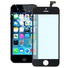 RICAMBIO VETRO +TOUCH SCREEN PER APPLE IPHONE 5 5G NERO SENZA DISPLAY LCD NUOVO