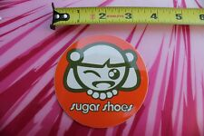 SUGAR SHOES Anime Girl Wink Skater Surfer MISC FEMALE Vintage Surfing STICKER