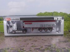 WSI 9443 DAF Lorry and Tipper Trailer 'BULTHUIS' 1:50 Diecast vgc boxed