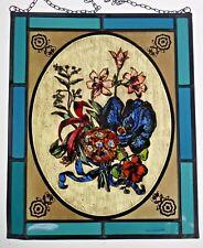 vetrata PIOMBATA älteres immagine Finestra Bernhardt pittura su vetro strstampas