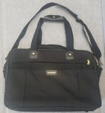 Vintage Samsonite Acclaim Black Boarding Bag Travel Luggage 1993