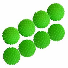 Set of 8 Green - Reusable Dryer Balls Replace Laundry Drying Fabric Softener