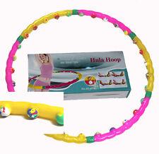 Hula Hoop Massage Reifen Magneten leicht abnemmen Bauchweg 1,2 kg 6016