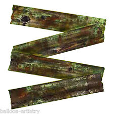 4 Halloween Zombie Invasion Battered Wood Boards Planks Decorations