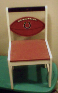 Indianapolis COLTS Childs Furniture Chair Youth Wooden NEW  LAST ONE!