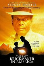 THE LAST BRICKMAKER IN AMERICA DVD Sidney Poitier NEW Sealed Free Shipping