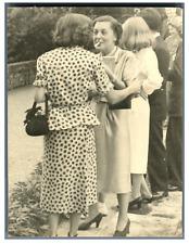 Mode années 50 Vintage silver print Tirage argentique  9x12  Circa 1950