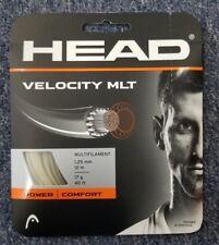 Head Velocity MLT 17 Gauge 1.25mm Tennis String NEW Natural