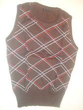 maglione senza maniche SISLEY marrone
