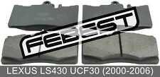 Pad Kit, Disc Brake, Front For Lexus Ls430 Ucf30 (2000-2006)