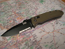 Benchmade HK 14250sbk-701 Snody Drop PT Knife LE TAN G10 154CM Axis Discontinued